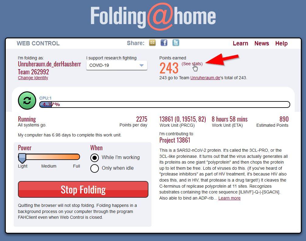 Screenshot: folding-at-home_Check_01