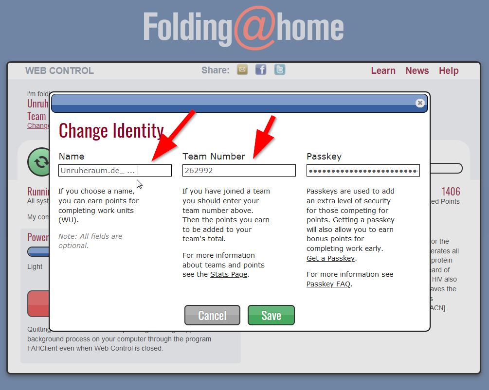 Screenshot: folding-at-home_setup_01