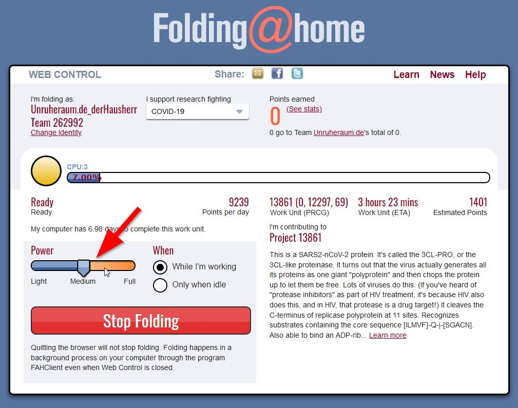 Screenshot: folding-at-home_setup_04
